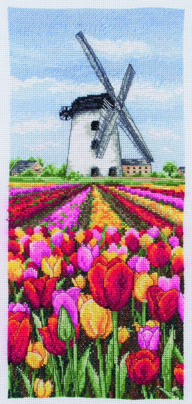 PCE0806 Anchor Cross Stitch Provence Lavender Scape. Anchor. Набор для вышивания нитками
