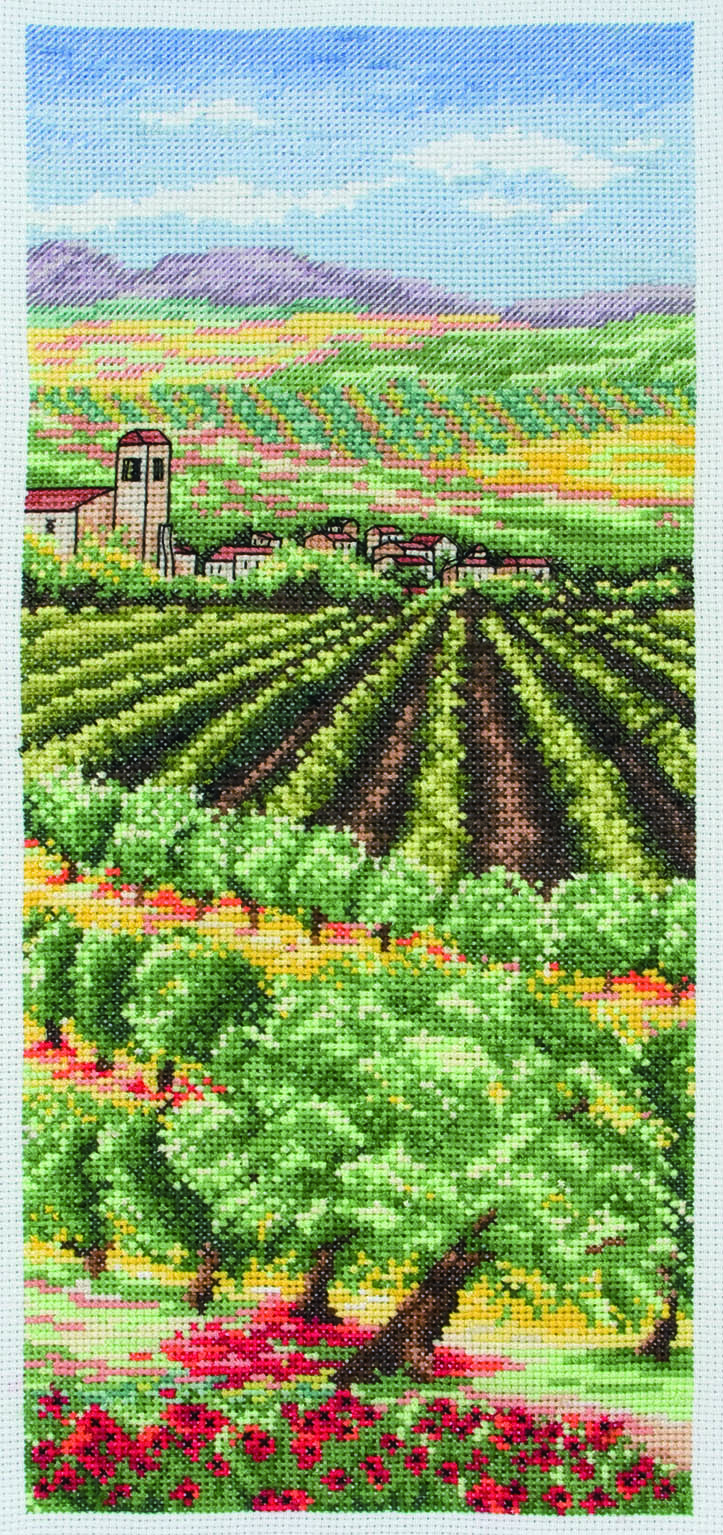 PCE0808 Anchor Cross Stitch Italian Olive Groves. Anchor. Набор для вышивания нитками